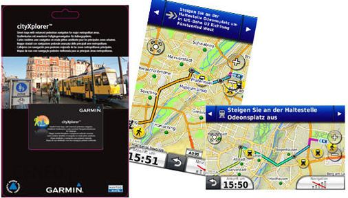 GARMIN cityXplorer card (010-11738-01)