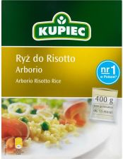 Kupiec ryż do risotto arborio 400g