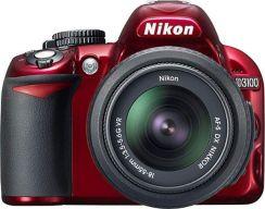 Nikon D3100 Body czerwony