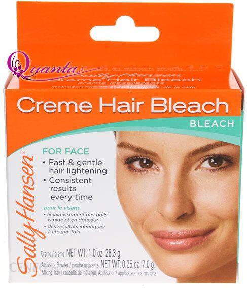 Surgicare facial hair bleach