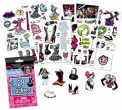 Mattel Monster High Saszetka Stickerzine 3230611