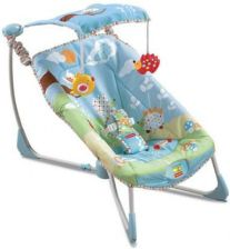 Fisher Price Fotelik Fold & Go Bouncy W9454