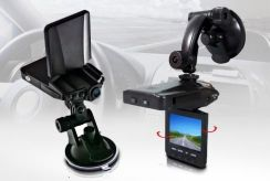 Kamera-Rejestrator Samochodowy HD!! z Wyświetlaczem LCD 2,5'' + IR.