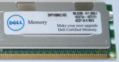 Dell RAM 1x 16GB ECC REGISTERED DDR3 4Rx4 1066MHz PC3-8500 RDIMM (A4188277)