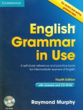 English Grammar in Use 4th Edition Book with answers and CD-ROM