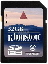 Kingston SDHC 32GB Class 4 (SD4/32GB)