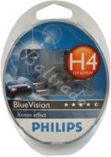 2x Philips H4 BlueVision Xenon Effect - 0