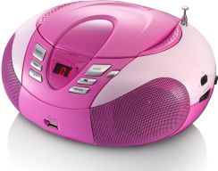 LENCO CD/MP3/USB SCD-37 różowy (SCD-37 USB PINK)