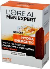 L'Oréal Paris Men Expert Hydra Energetic Woda po goleniu High Power 100 ml - 0