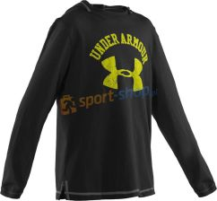 Under Armour bluza Collegiate Longslave Hoody (czarna) 1229313-001