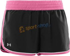 Under Armour spodenki Great Escape 3'' Short (czarne-różowe) 1222049-031
