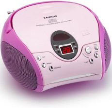 Lenco SCD-24 MP3 (SCD-24 MP3 PINK)