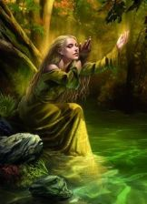 Fantasy Flight Games KOSzULKI LORD OF THE RINGS - GOLDENWOOD SINGER ART