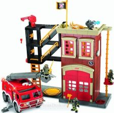 Fisher Price -Remiza Strażacka - Imaginext W8572 - 0