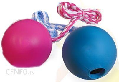 YARRO zabawka do rzucania piłka gumowa 7,5cm na sznurku