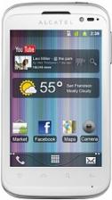 Alcatel One Touch OT 991 Smart biały