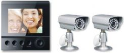 4World SECURITY zestaw CCTV 2 x kamera (ANL-01-PZ) + Monitor 4'' LCD (07658)