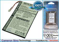Creative zen Vision M 30GB 1400mAh 5.2Wh Li-Polymer 3.7V (Cameron Sino)