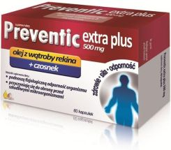 Preventic Extra Plus 0,5 g 60 kapsułek  - 0