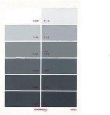 Fotowand 808897 odcienie szarości 12 pól A5 kalibrator kolorów (808897)