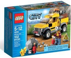 Lego City Kopalnia - Górniczy Wóz Terenowy 4200