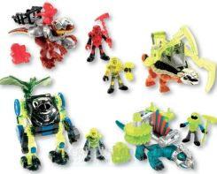 Fisher Price Figurki Dinozaurów Imaginext W6016
