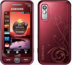 Samsung S5230 Avila La Fleur czerwony