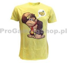 Bioworld Merchandising Tricko Nintendo Donkey Kong Wants Banana yellow xlarge