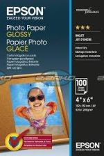 Glossy Photo Paper 10x15, 100 kartek