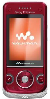 Sony Ericsson W760i czerwony