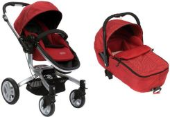 Graco Symbio Drive Chili Red Głęboko Spacerowy