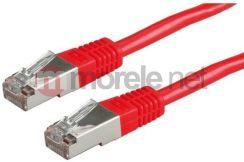 Value Kabel sieciowy S/FTP PiMF kat.6 3m czerwony (21.99.1351-100)
