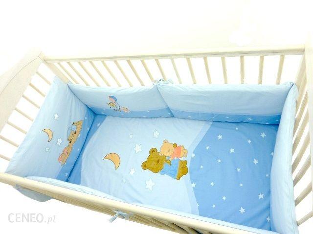 Bon Dodo Ochraniacz Do Łóżeczka 120X60 Bears Niebieski
