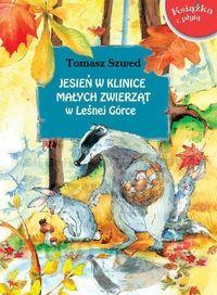 jesień w klinice małych zwierząt, książki o jesieni dla dzieci