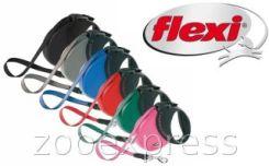 Flexi Smycz  Comfort COMPACT 3 Large kolor CzERWONY