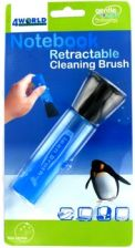 4World Notebook Retractable Cleaning Brush (04777)