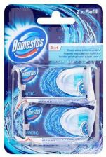 Domestos 3In1 Kostki Do Wc Atlantic Wkłady 2 Szt. 80G