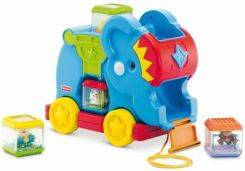 Fisher Price Słonik Z Klockami C0244