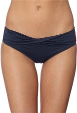 Seafolly TWIST BAND MINI HIPSTER Dół od bikini niebieski