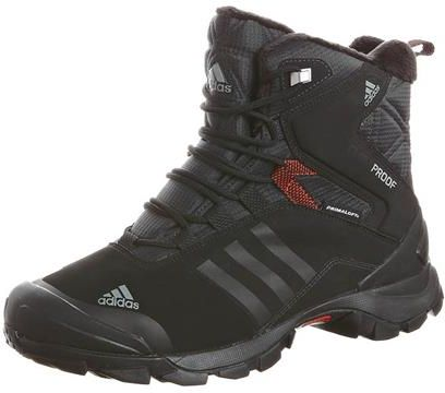 adidas Performance WINTER HIKER SPEED Obuwie hikingowe czarny