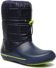 Crocs PÓŁBUTY I BOTKI CROCBAND 2,5 WINTER BOOT BY CROCS (Niebieski)
