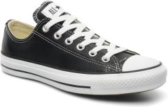 Converse MODNE TENISÓWKI CHUCK TAYLOR ALL STAR LEATHER OX W BY CONVERSE (Czarny)
