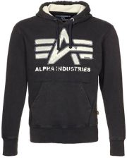 Alpha Industries BIG A Bluza z kapturem czarny