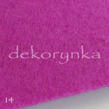 Filc arkusz 20x30cm do sutasz 1mm fi14 purpura