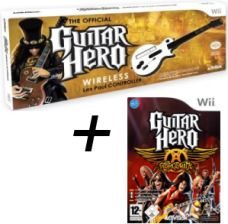 Les Paul + Guitar Hero Aerosmith (Gra Wii)