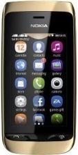 Nokia Asha 308 złoty