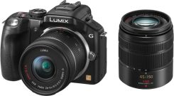 Panasonic Lumix DMC-G5 Czarny + 14-42mm + 45-150mm