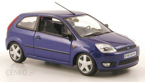 MINICHAMPS Ford Fiesta 3door (blue)  (165480)