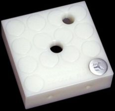 EK Water Blocks EK-D5 X-TOP CSQ - WHITE ACETAL (51CF-684F1)