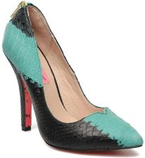 Betsey Johnson CZÓŁENKA TAYLR BY 58723GREEN MULTI